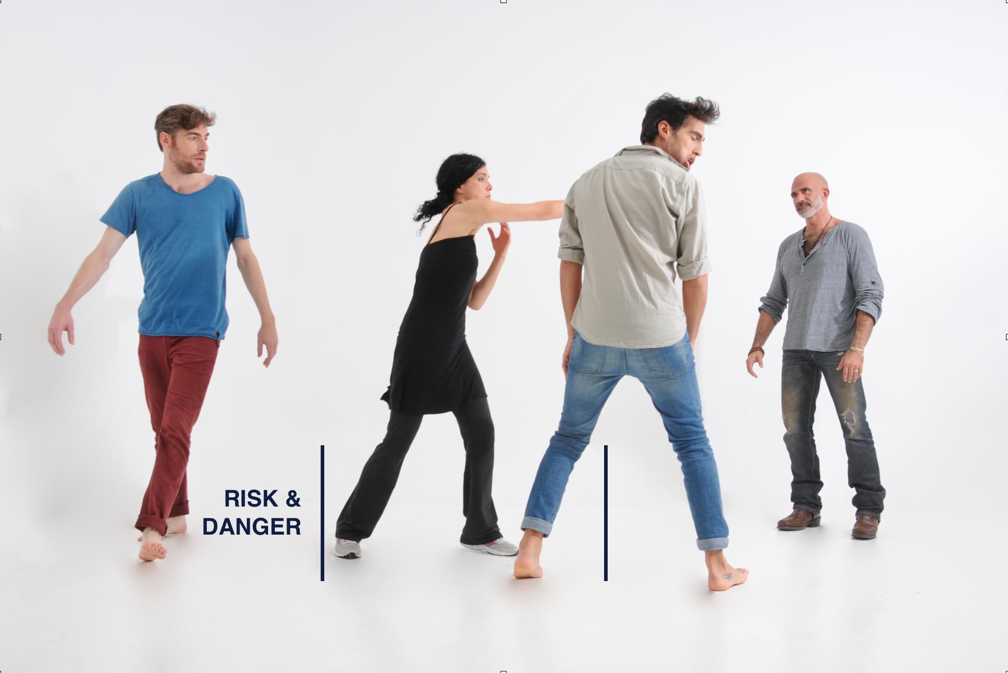 Curso de risk & danger - Tecnica Meisner para actores